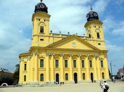 (c) HongarijeVakantieland.nl: Debrecen Stadhuis.