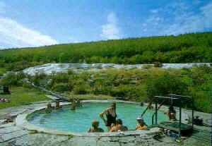 Het oude bad van Egerszalók