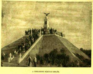 Turul monument Tiszabecs, 1903