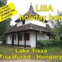 Lake Tisza Holiday Homes - vakantiehuizen vlak aan het vrijstrand van het Tiszameer in Tiszafüred