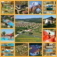Villapark Vargesztes Hongarije